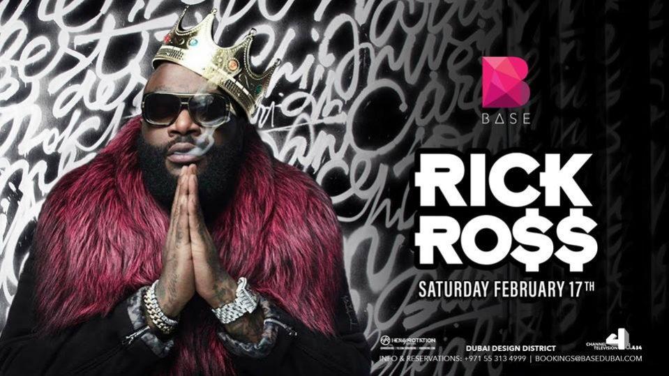 Rick Ross Live in Dubai - Coming Soon in UAE, comingsoon.ae