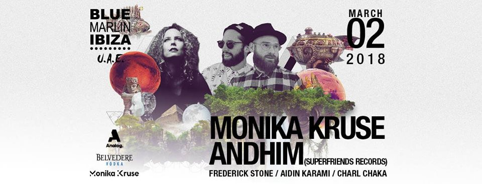 Monika Kruse and Andhim at Blue Marlin Ibiza UAE - Coming Soon in UAE, comingsoon.ae