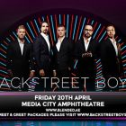 Backstreet Boys live in Dubai by Done Events
