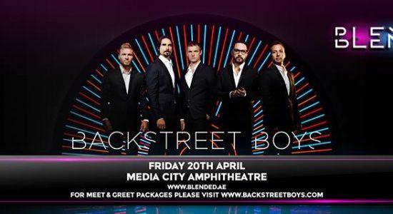 Backstreet Boys live in Dubai - comingsoon.ae