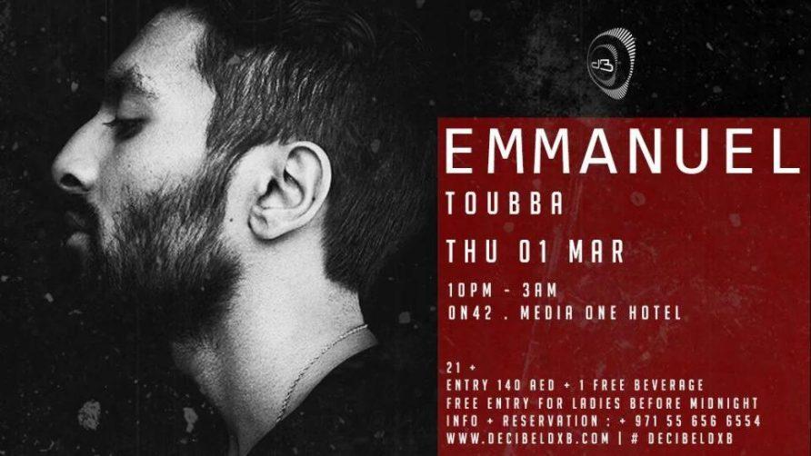 Decibel w/ Emmanuel - Coming Soon in UAE, comingsoon.ae