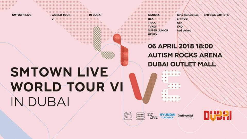 SMTown Live World Tour VI in Dubai - Coming Soon in UAE, comingsoon.ae