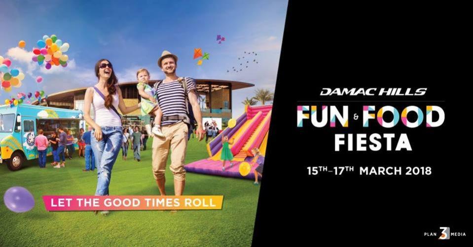 DAMAC Fun & Food Fiesta - Coming Soon in UAE, comingsoon.ae