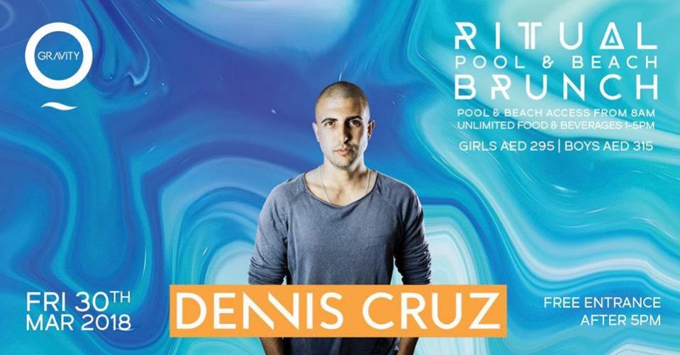 Dennis Cruz at Zero Gravity - Coming Soon in UAE, comingsoon.ae