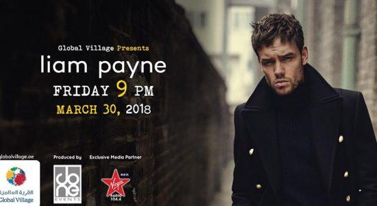Liam Payne at Global Village - comingsoon.ae