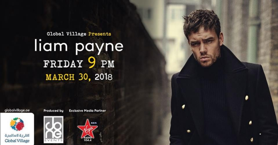 Liam Payne at Global Village - Coming Soon in UAE, comingsoon.ae