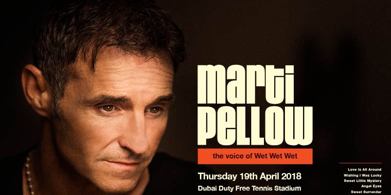 Marti Pellow Live in Dubai - Coming Soon in UAE, comingsoon.ae