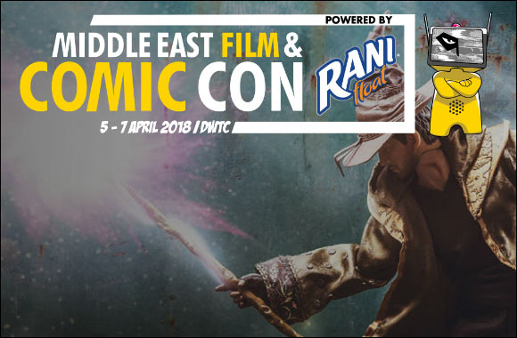Middle East Film And Comic Con 2018 - Coming Soon in UAE, comingsoon.ae