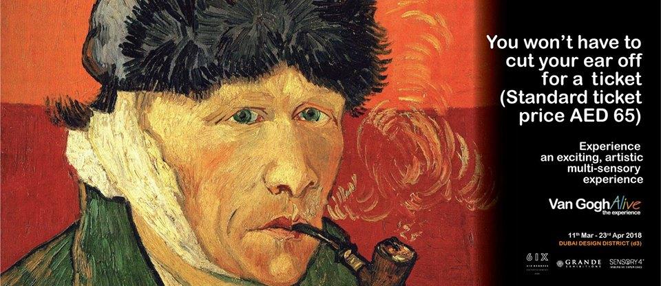 Van Gogh Alive – The Experience - Coming Soon in UAE, comingsoon.ae