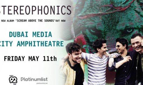 Stereophonics Live in Dubai - Coming Soon in UAE, comingsoon.ae