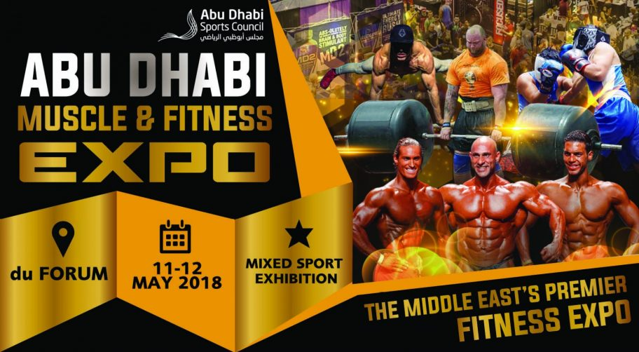 Abu Dhabi Muscle & Fitness Expo 2018 - Coming Soon in UAE, comingsoon.ae