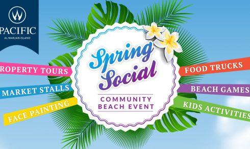 Spring Social Beach Event Al Marjan Island - Coming Soon in UAE, comingsoon.ae