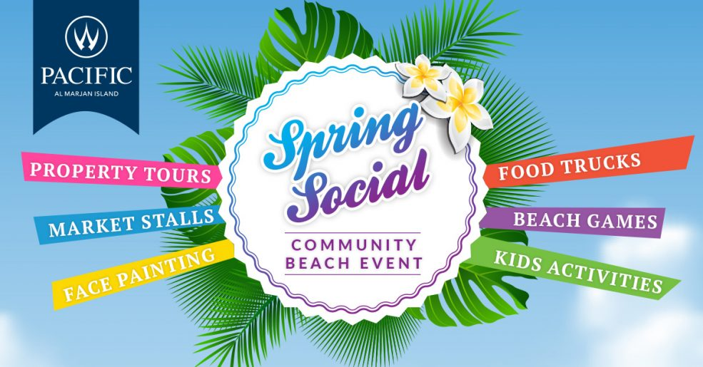 Spring Social Beach Event Al Marjan Island - Coming Soon in UAE, comingsoon.ae