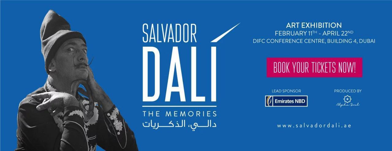 Salvador Dali, The Memories - Coming Soon in UAE, comingsoon.ae