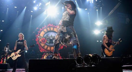 Guns N' Roses live in Abu Dhabi - comingsoon.ae