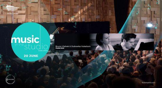 Bruno Vlahek & Dubravka Vukalovic Live at Dubai Opera - comingsoon.ae