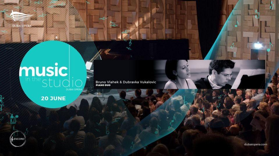 Bruno Vlahek & Dubravka Vukalovic Live at Dubai Opera - Coming Soon in UAE, comingsoon.ae