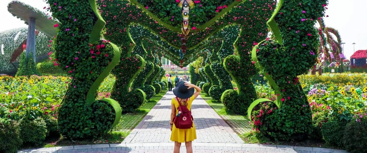 Dubai Miracle Garden Timings Location And Tickets Price