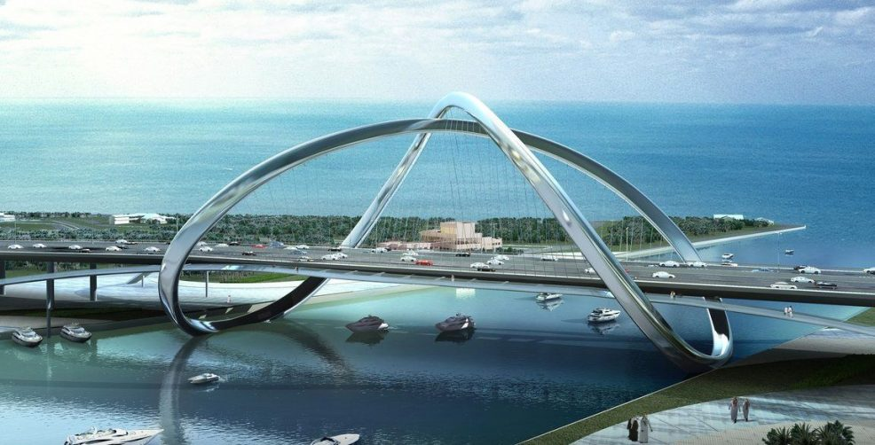 Infinity Bridge — an impressive bridge to the future will appear in Dubai - Coming Soon in UAE, comingsoon.ae