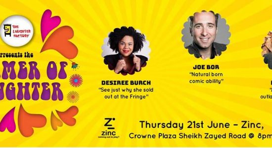 The Laughter Factory at Zinc - comingsoon.ae