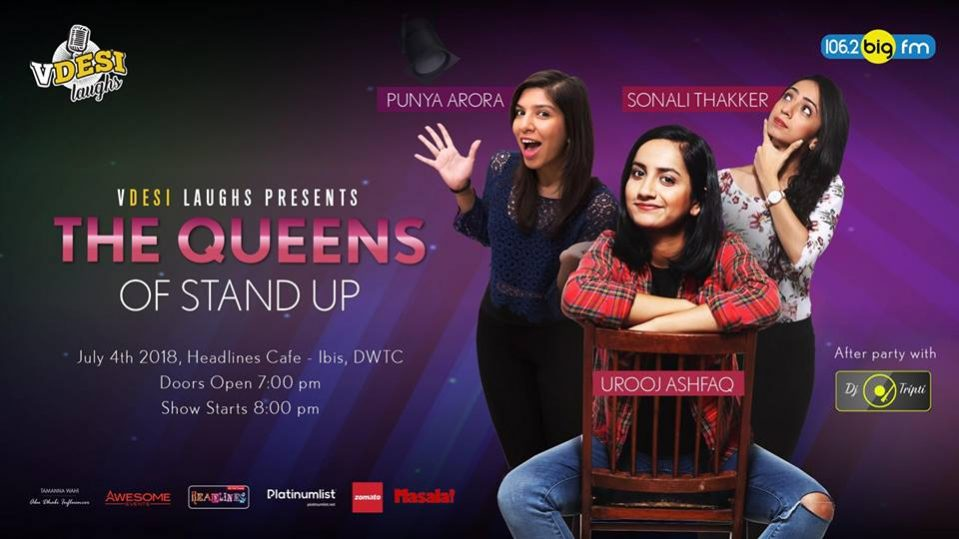 The Queens of Stand Up - Coming Soon in UAE, comingsoon.ae