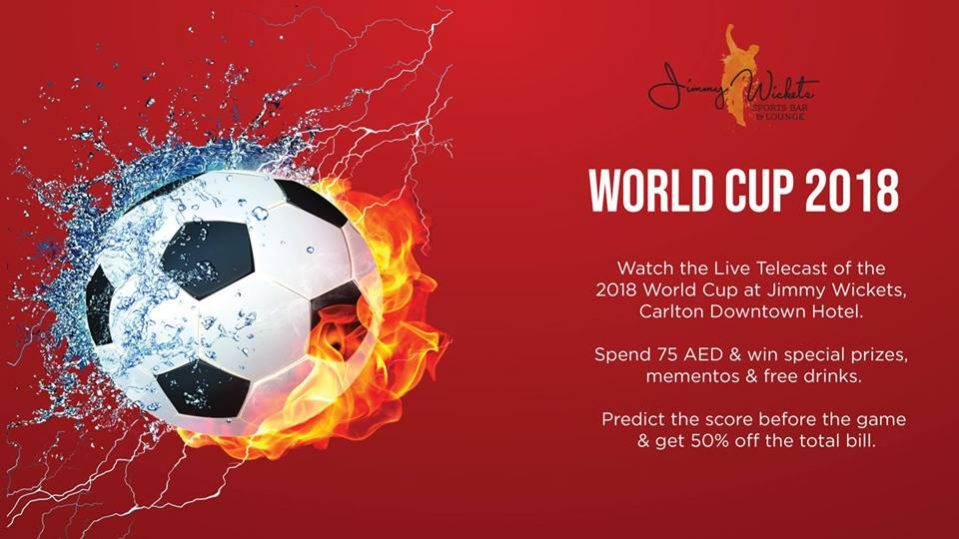 FIFA World Cup at Carlton Downtown - Coming Soon in UAE, comingsoon.ae