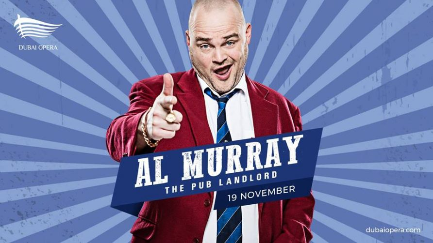 Al Murray at Dubai Opera - Coming Soon in UAE, comingsoon.ae