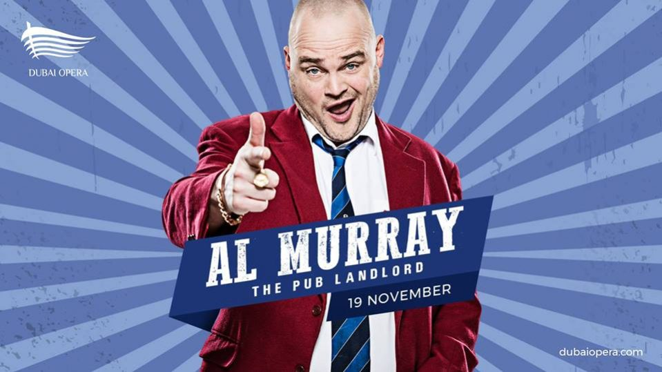 Al Murray at Dubai Opera - Coming Soon in UAE, comingsoon.ae