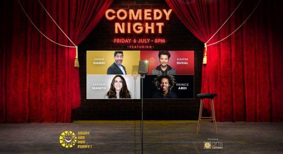 Comedy Night at Dubai Opera - comingsoon.ae