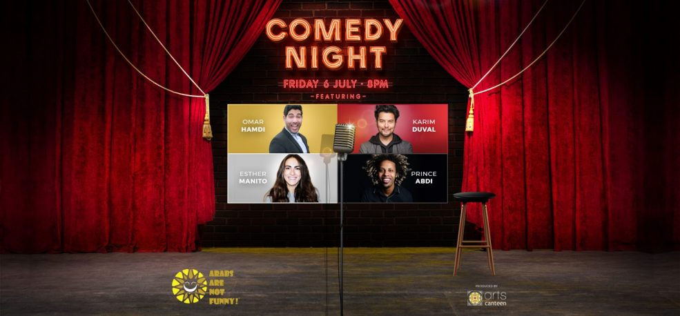 Comedy Night at Dubai Opera - Coming Soon in UAE, comingsoon.ae