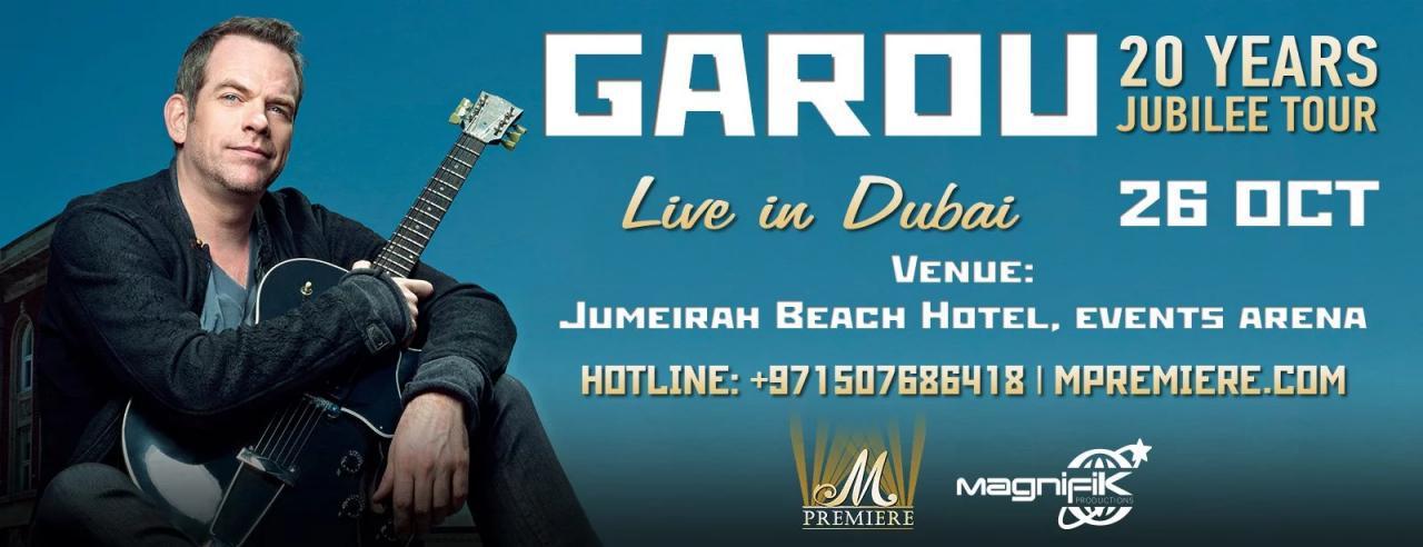 GAROU Live in Dubai - Coming Soon in UAE, comingsoon.ae