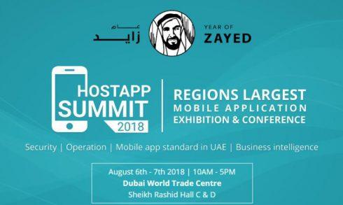 HostApp Summit 2018 - Coming Soon in UAE, comingsoon.ae