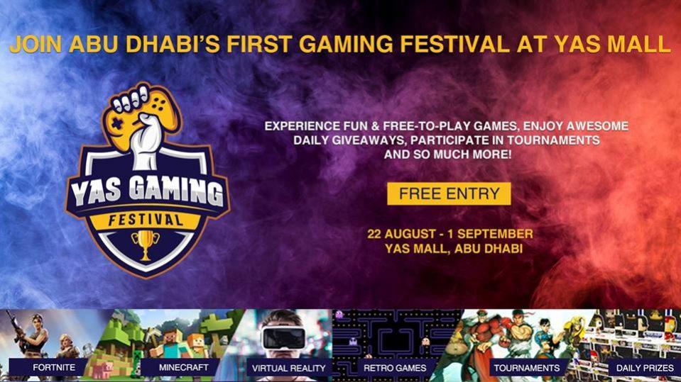 YAS GAMING FESTIVAL - Coming Soon in UAE, comingsoon.ae