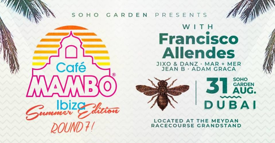 Cafe Mambo with Francisco Allendes - Coming Soon in UAE, comingsoon.ae
