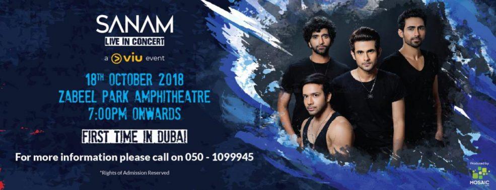 Sanam Live in Dubai - Coming Soon in UAE, comingsoon.ae