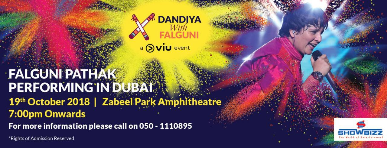 Falguni Pathak Live in Dubai - Coming Soon in UAE, comingsoon.ae