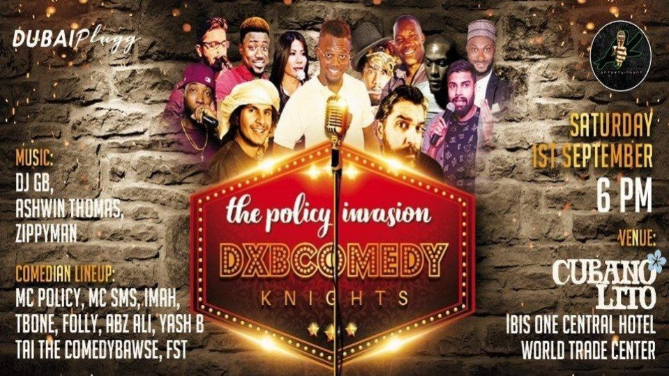 Dxb Comedy Knights - Coming Soon in UAE, comingsoon.ae