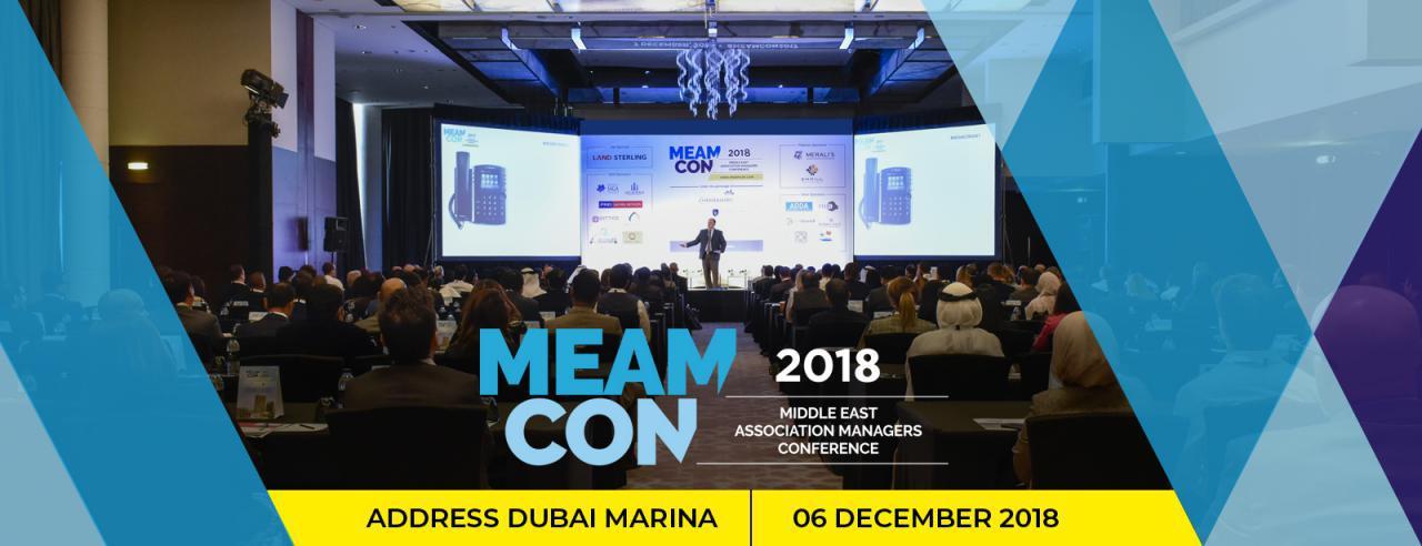 MEAMCON 2018 - Coming Soon in UAE, comingsoon.ae