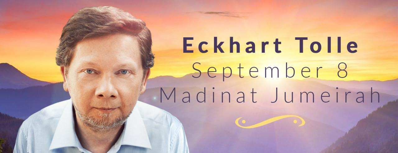 An Evening with Eckhart Tolle - Coming Soon in UAE, comingsoon.ae