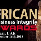 African Business Integrity Awards at Ibis Hotel, DWTC in Dubai