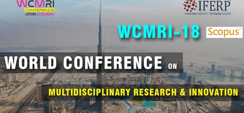 World Conference on Multidisciplinary Research & Innovation - Coming Soon in UAE, comingsoon.ae