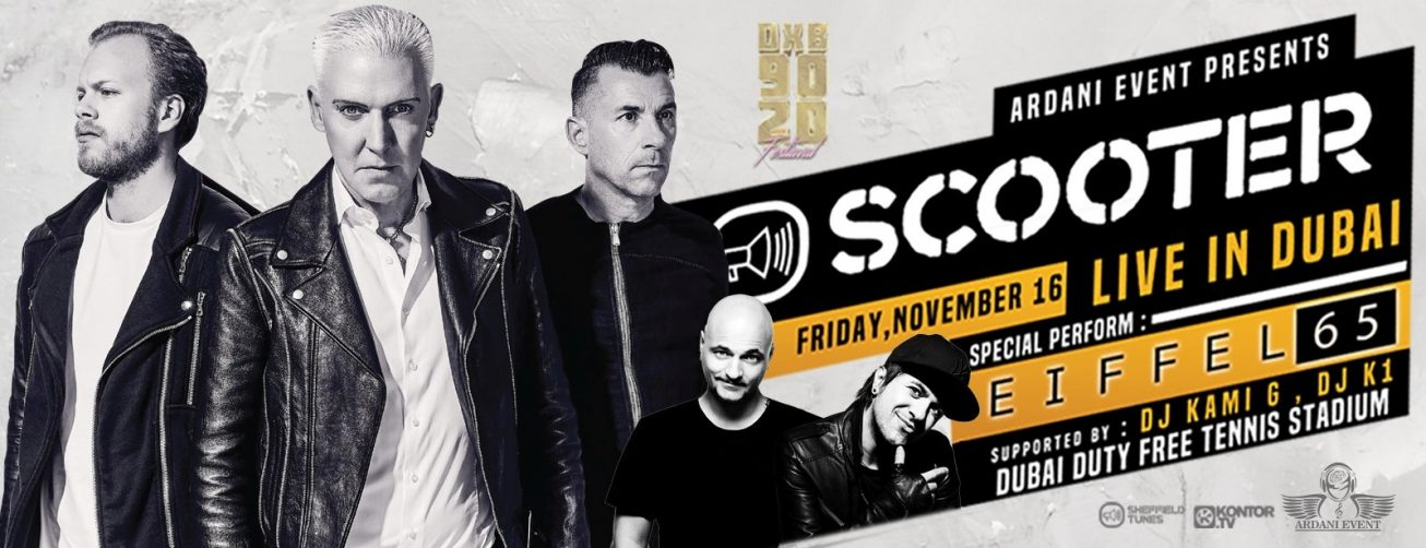 DXB 9020 FEST – Scooter and Eiffel 65 Live in Dubai - Coming Soon in UAE, comingsoon.ae