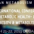 25th International Conference on Human Metabolic Health- Diabetes, Obesity & Metabolism at Radisson Blu Hotel, Dubai Deira Creek in Dubai