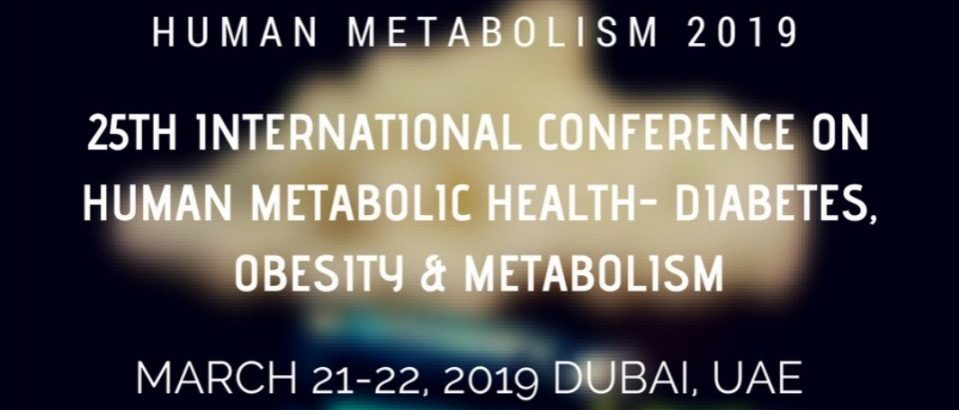 25th International Conference on Human Metabolic Health- Diabetes, Obesity & Metabolism - Coming Soon in UAE, comingsoon.ae