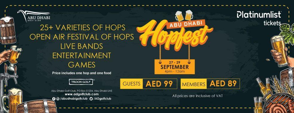 Abu Dhabi HopFest - Coming Soon in UAE, comingsoon.ae