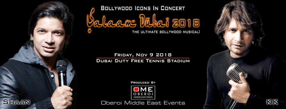 Salaam Dubai 2018 — Bollywood icons live! - Coming Soon in UAE, comingsoon.ae