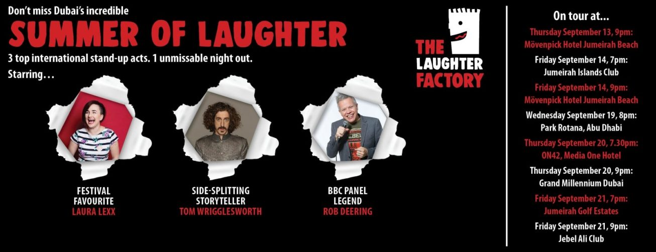 Summer of Laughter from the Laughter Factory - Coming Soon in UAE, comingsoon.ae