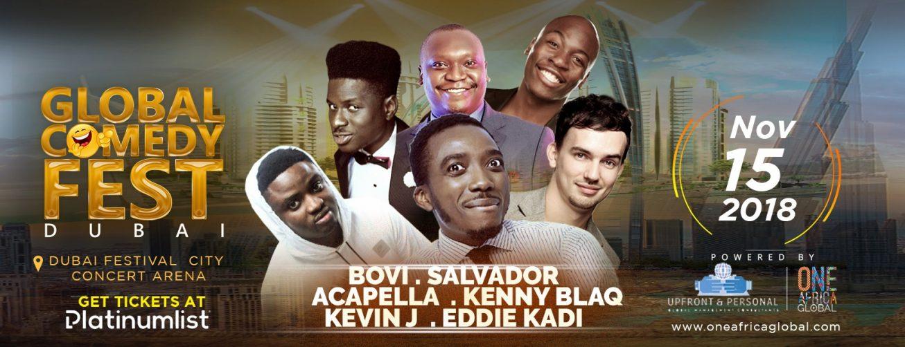 Global Comedy Fest - Coming Soon in UAE, comingsoon.ae