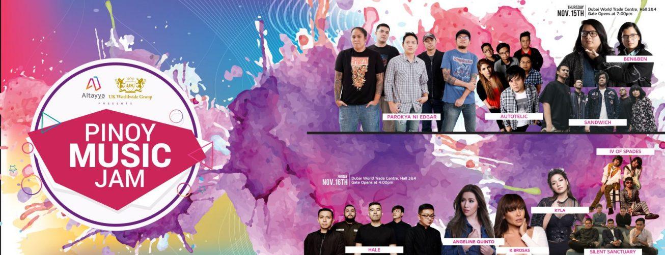 Pinoy Music Jam - Coming Soon in UAE, comingsoon.ae