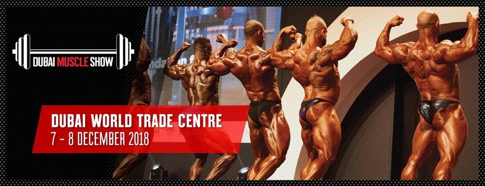 Dubai Muscle Show 2018 - Coming Soon in UAE, comingsoon.ae